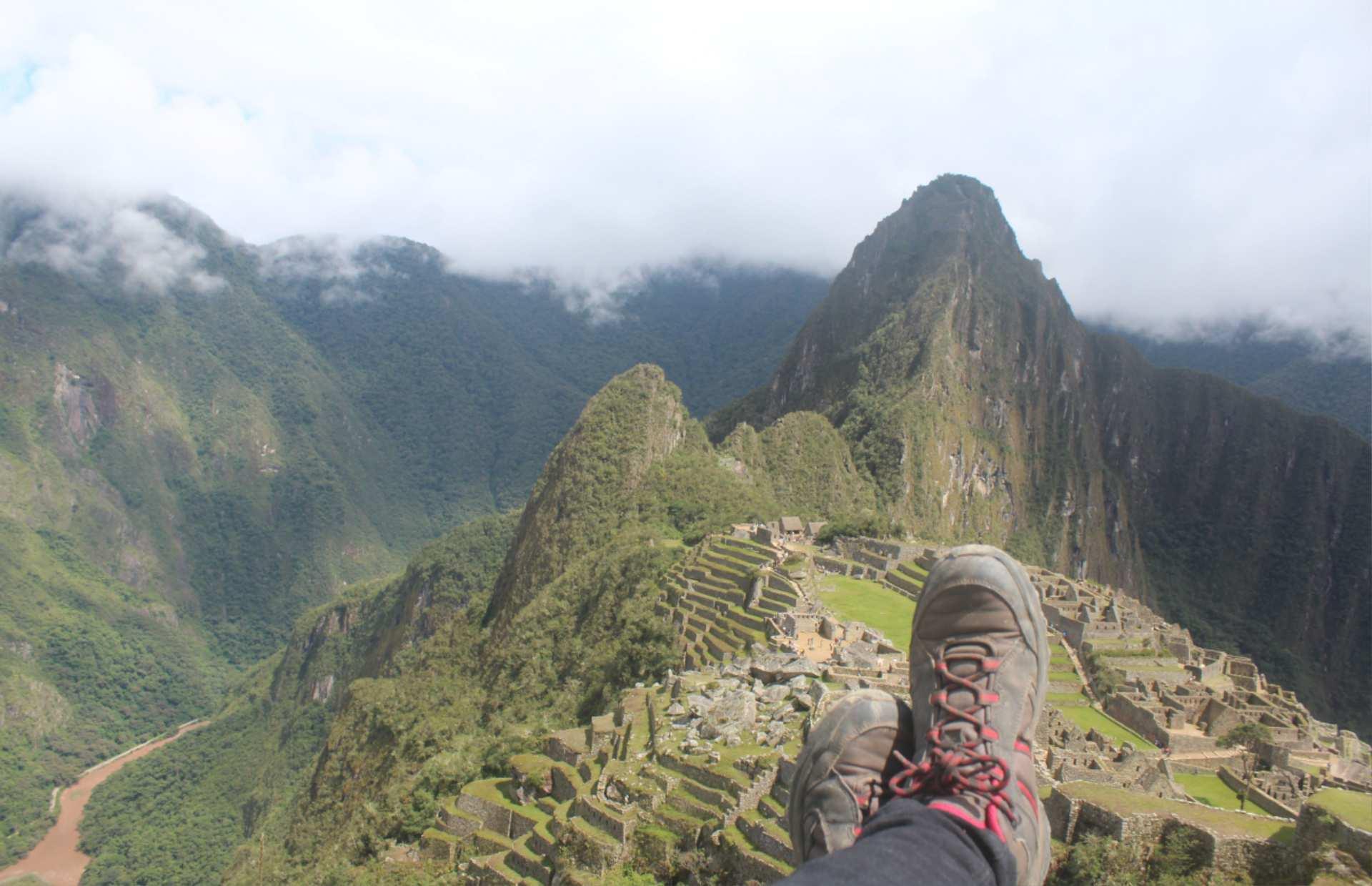 Carla Bragagnini at Machu Picchu http://infromtheoutpost.com