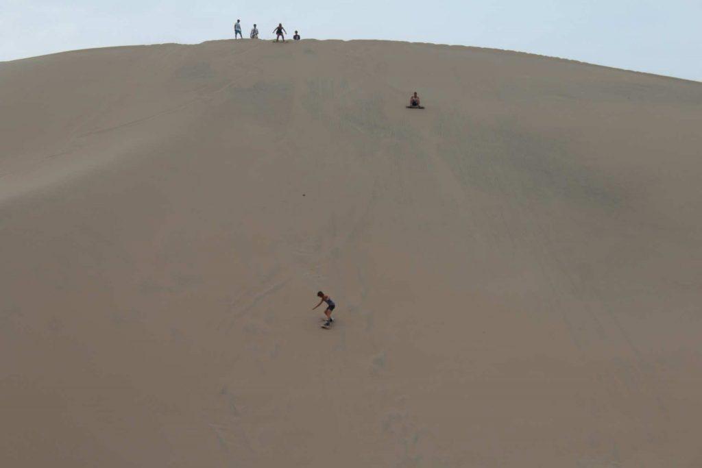 Sandboarding at Huacachina Peru http://infromtheoutpost.com