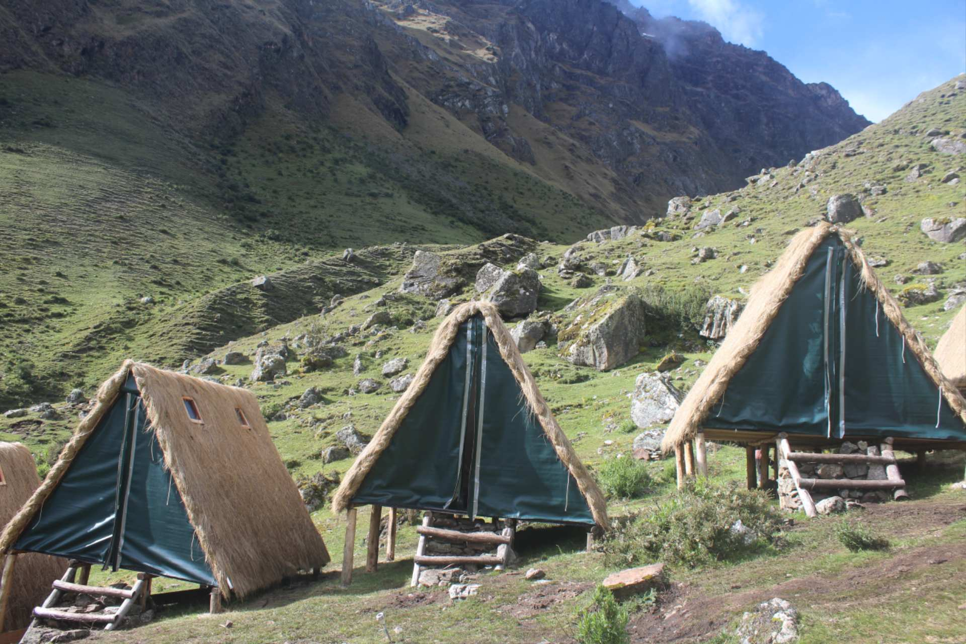 Simple huts like these in the Andes are for trekkers http://infromtheoutpost.com