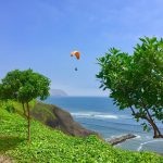 http://infromtheoutpost.com paragliding along Peru's Pacific Coast
