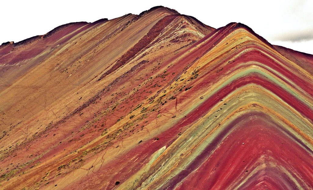 Alpine Rainbow Mountain in Peru, Carla Bragagnini