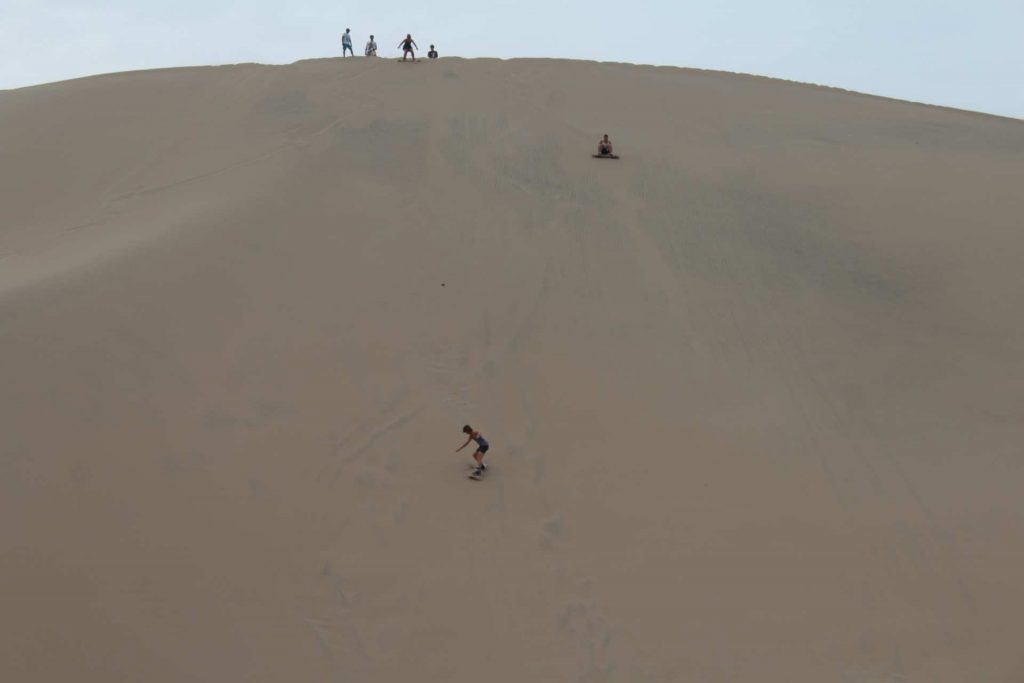 Sandboarding at Huacachina Peru https://infromtheoutpost.com