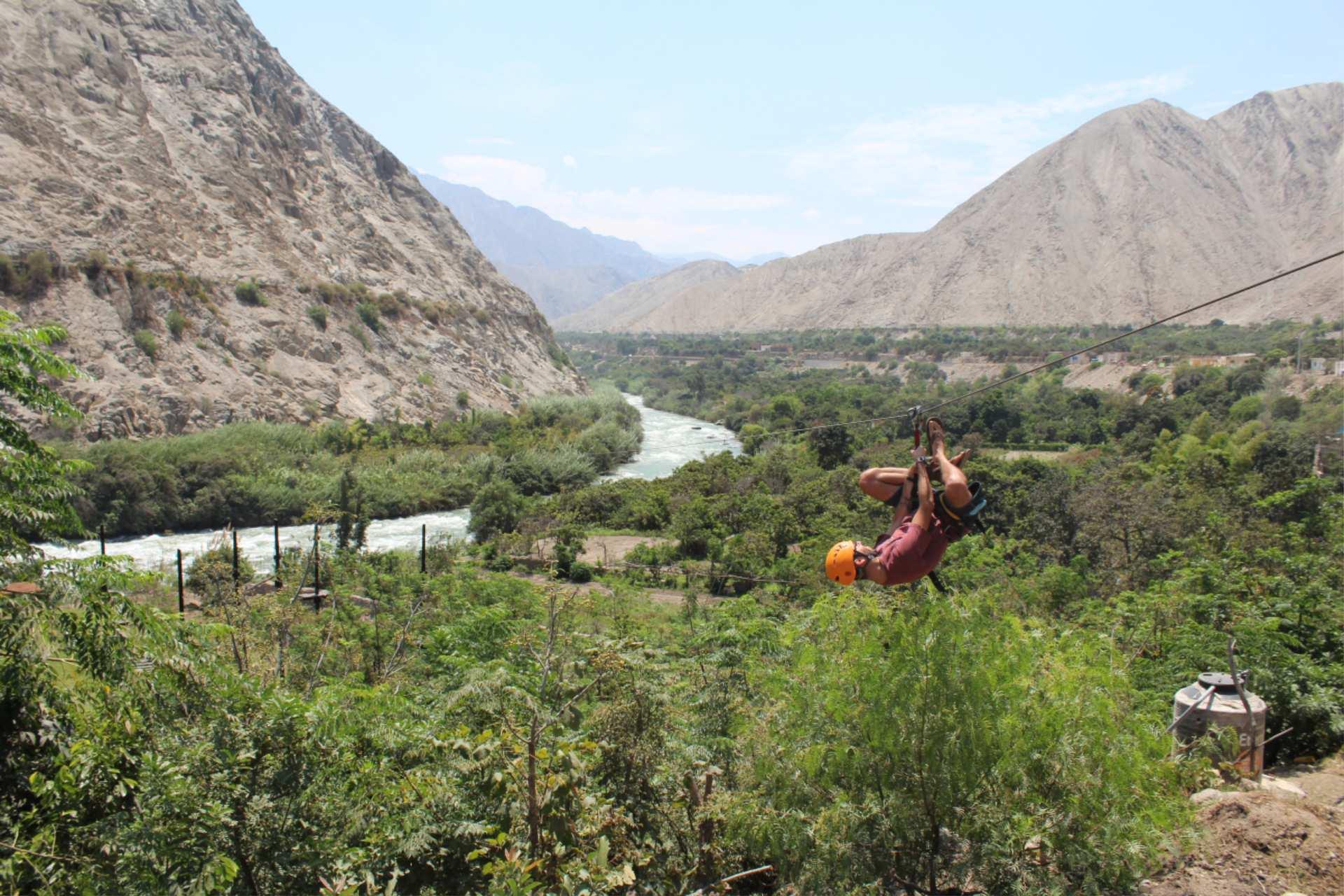https://infromtheoutpost.com ziplining in Lunahuaná, Peruttp://infromtheoutpost.com