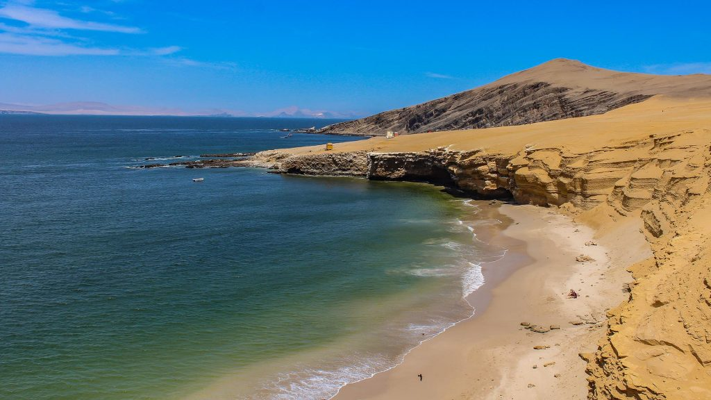 Paracas Nature Reserve Beach