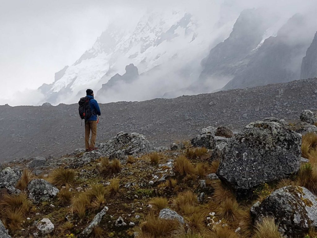 https://infromtheoutpost.com Salkantay Trek views, Andes mountains, Jeff Fuchs